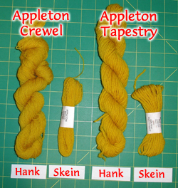 Appleton Wool for Embroidery