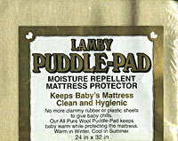 Lamby Puddle-Pad/Mattress Protector